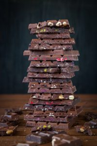 abundancia de chocolate
